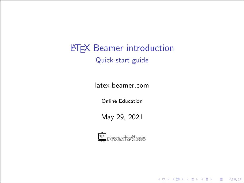 add Logo in Beamer titlegraphic command
