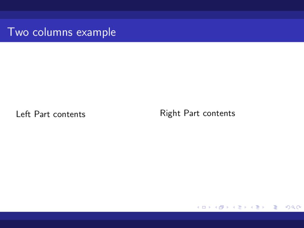Split-frame-to-two-columns